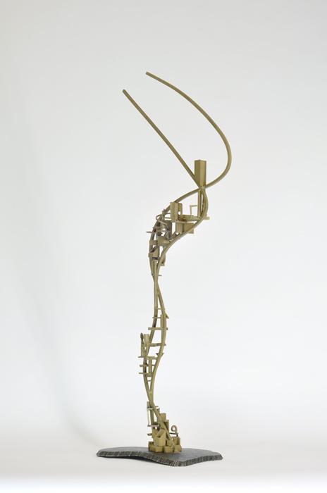 05_Arch.dance series#5_2014_Bronze,steel_H90xW39xD22cm_$750.jpg