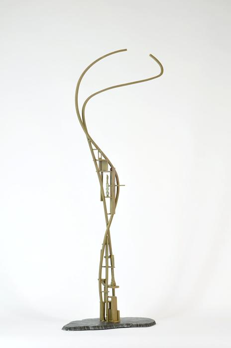 06_Arch.dance series#6_2014_Bronze,steel_H90xW35xD21cm_$750.jpg