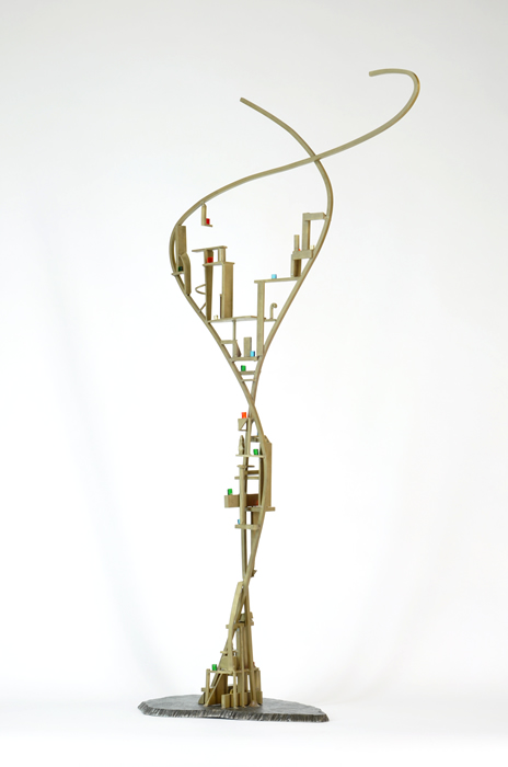09_Arch.dance series#9_2014_Bronze,glass,steel_H95xW53xD22cm_$750.jpg